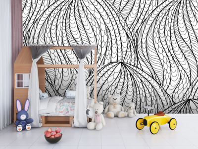 OCTOPUS TENTACLES | Vinyl Wall Wrap for Any Room | Removable Vinyl Wallpaper