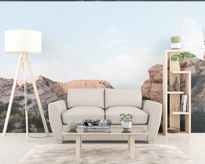 ARIZONA MOUNTAINS| Vinyl Wall Mural for Any Room | Removable Vinyl Wallpaper