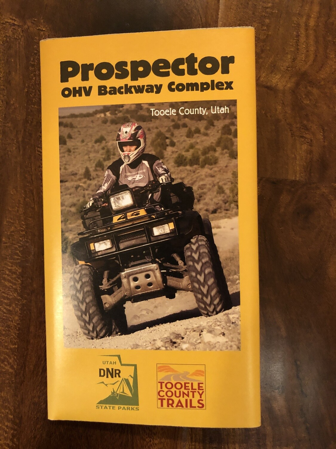 Prospector OHV Backway Complex Trail Map