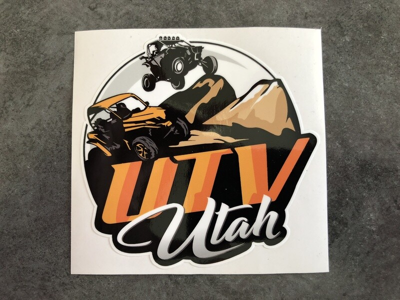 UTV Utah Sticker