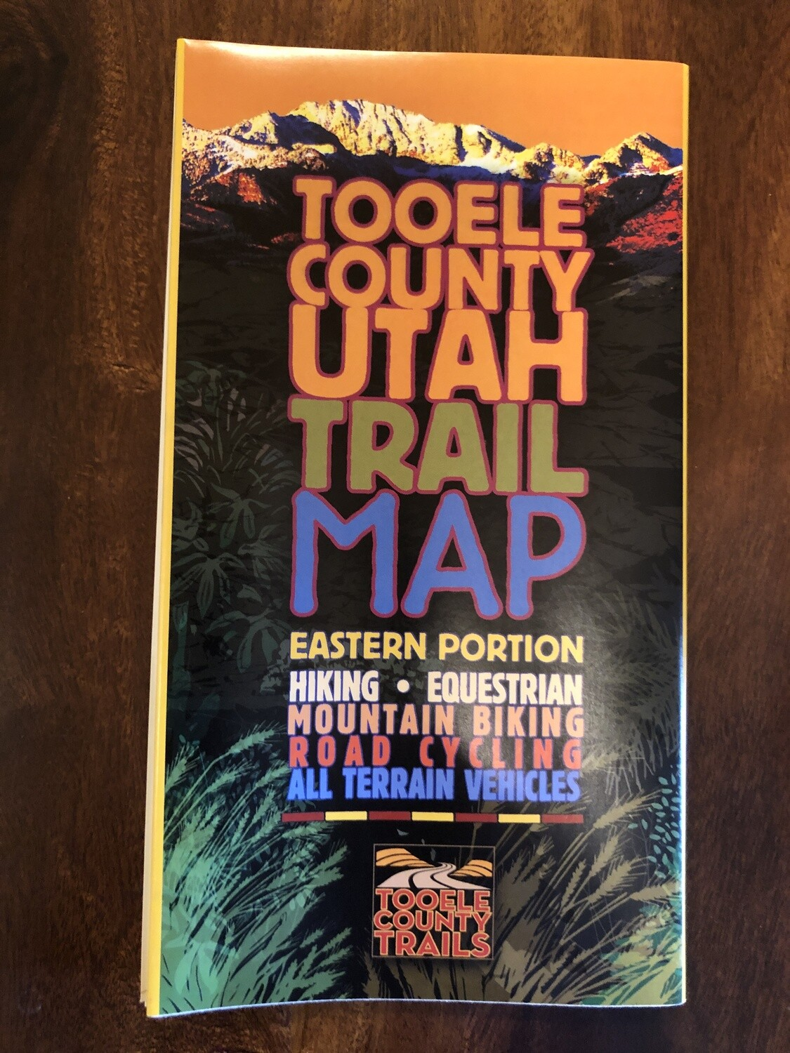 Tooele County Trail Map (Eastern Portion)