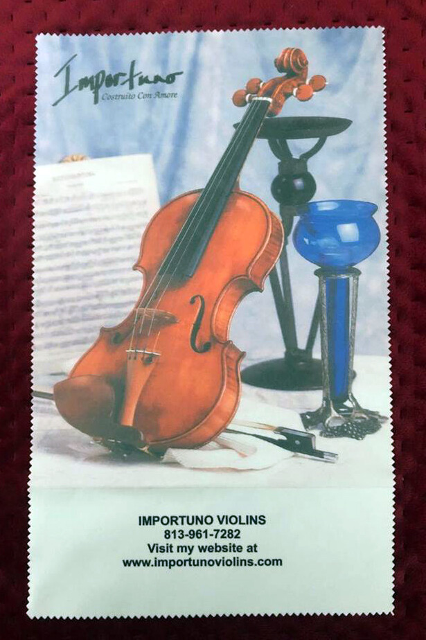Microfiber Instrument Cloth - Classic Violin
