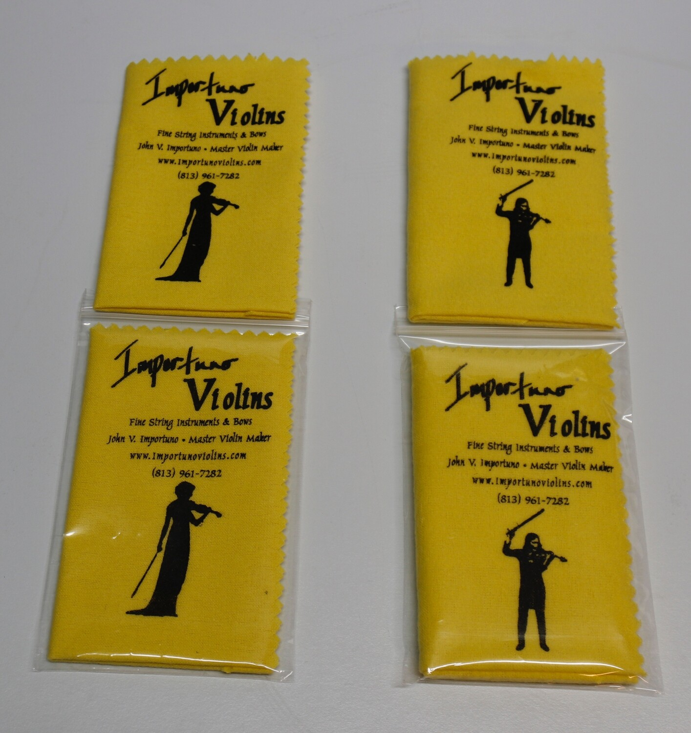 Cleaning Cloth by Importuno Violins - Flannel