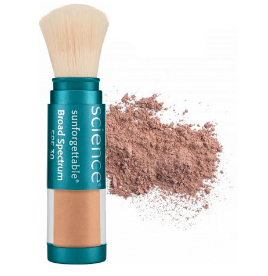 Colorescience Sunforgettable Mineral Sunscreen Brush SPF 30 - Tan (Perfectly Clear)  6 g / 0.2 oz