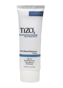 TIZO 3 Facial Mineral Sunscreen SPF 40 (Tinted)  50 g / 1.75 oz