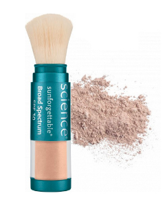 Colorescience Sunforgettable Mineral Sunscreen Brush SPF 30 - Medium (Perfectly Clear)  6 g / 0.2 oz
