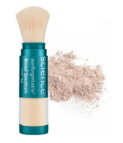 Colorescience Sunforgettable Mineral Sunscreen Brush SPF 30 - Light (Perfectly Clear)  6 g / 0.2 oz