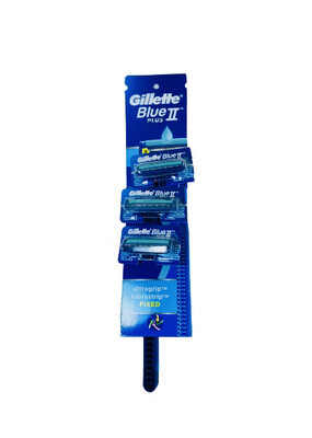 Gillette Blue 2 Plus (Hangcard 24's x 3)