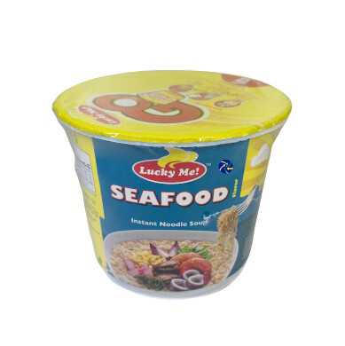 Lucky Me Supreme-Mini Sea Food (40g)