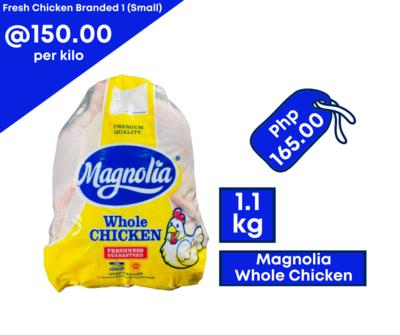Magnolia Whole Chicken 1.1kg