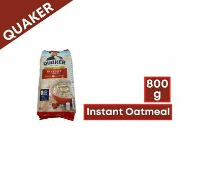 Quaker Instant Oatmeal (800g)