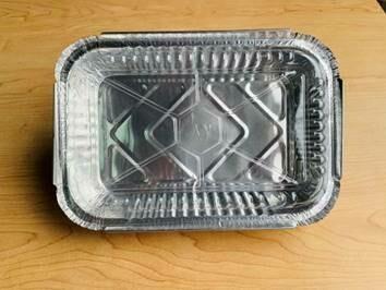 Aluminum Foil Tray w/ Plastic Lid (8.3