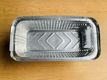 Aluminum Foil Tray w/ Plastic Lid (8.8
