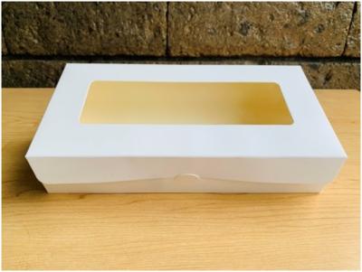 "Pastry Box w/ Window 4½ x 9 x 2"""