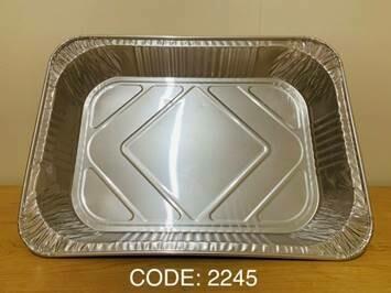 """Aluminum Foil Tray (18"""" x 12.5"""" x 3"""")"""