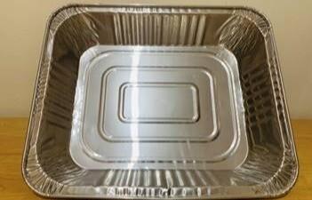 """Aluminum Foil Tray (12.5 x 10.5 x 2.5"""")"""