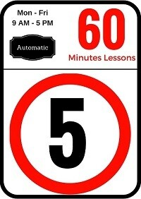 Automatic 5 Lessons of 60 minutes
