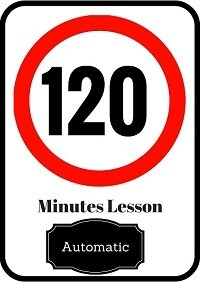 Automatic driving lesson 120 minutes