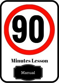 Manual driving lesson 90 minutes