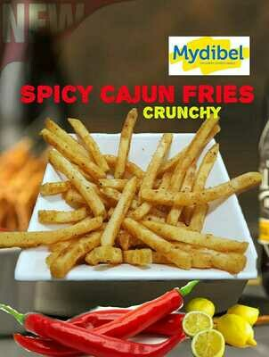 Potato Spicy Cajun Fries 1 kg Pack  (بطاطا كاجون حارة 2 كغم)