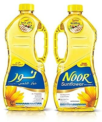 Sunflower Noor Fresh Oil (1x1.5l)-زيت نور 1.5 لتر