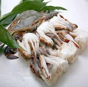 Cut Cleaned Crab 16-20pcs  ( Cut Pcs)-قطع السلطعون