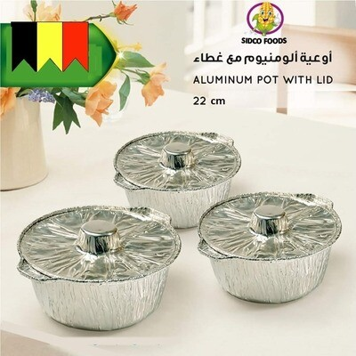Aluminium Pot 1 pcs -وعاء ألومنيوم