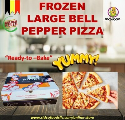 Frozen Large Bell Pepper pizza  -بيتزا دجاج بالفلفل الحار
