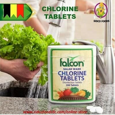 Falcon Chlorine Tablets ( 200 Tablet)-أقراص فالكون كلور