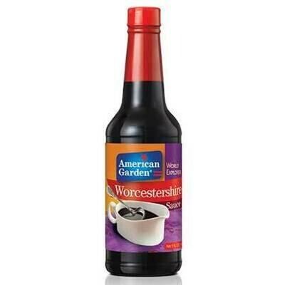 Worcestershire sauce 10oz american garden-صلصة رسيستيرشاير 10 أونصة أميريكان جاردن