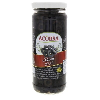 Black Olive Sliced 230g-زيتون اسود مقطع