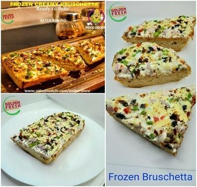 Frozen Veg Creamy Bruschetta(3 pcs)-بروشيتا دسم مجمدة