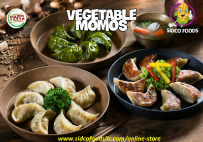 Vegetable Momos 10pcs موموس خضروات