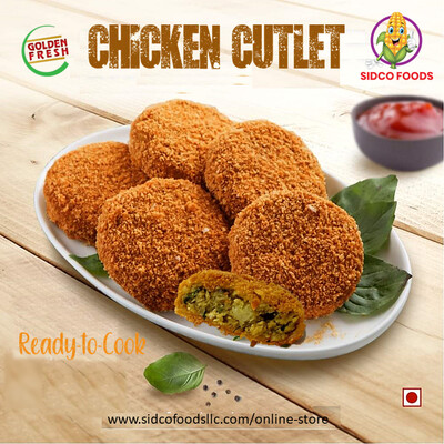 Frozen Chicken Cutlet (4  pcs) شريحة دجاج