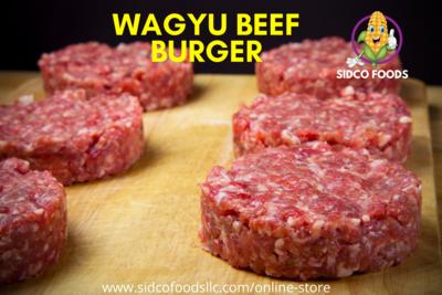 Wagyu Beef Burger 3pcs: 450g برجر لحم واجيو