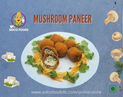 Mushroom Paneer 5pcs  (200g) فطر بانير