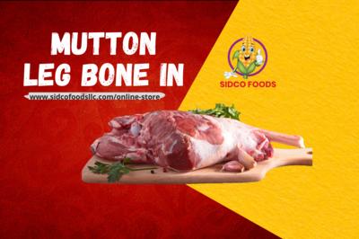 Mutton Leg Bone In 900g (Frozen)ضأن عظم الساق