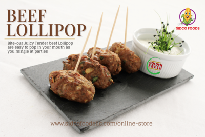 Beef Lollipop 200g (6pcs) بيف لوليبوب