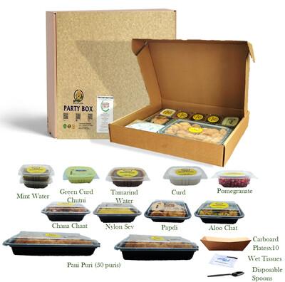 Premium Pani Puri Party Box