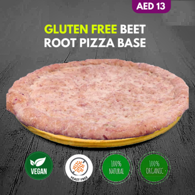 Premium Vegan Beet Root Pizza Base 11inch (1pcs)