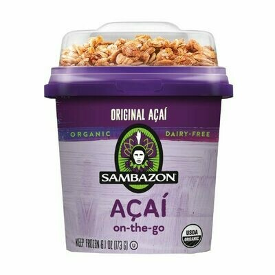 Sambazon Original On The Go Acai Bowl (180mL)