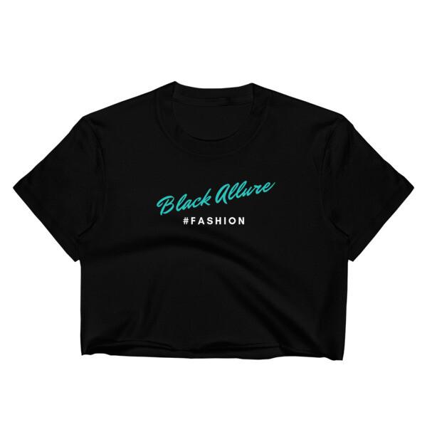 Black Allure Crop Top