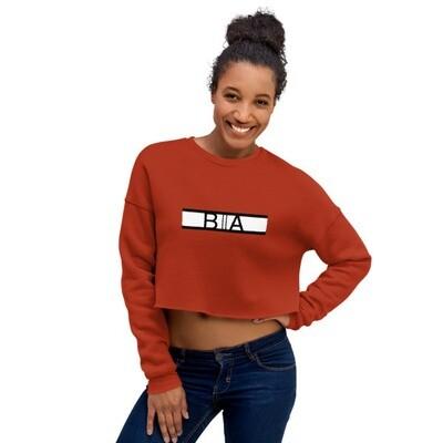 Crop Sweatshirt Black Allure