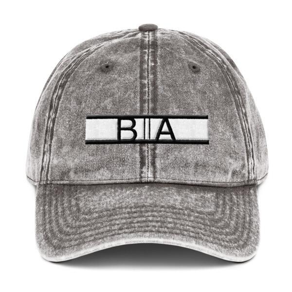 BA Vintage Cotton Twill Cap