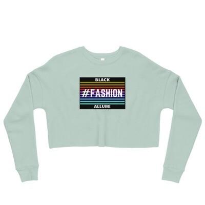 #Fashion Crop Sweatshirt