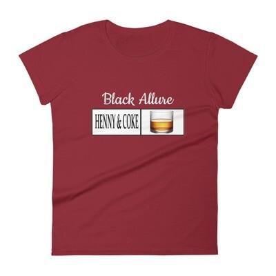 Henny & Coke short sleeve t-shirt