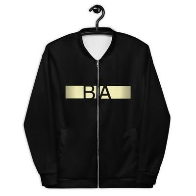 BA Retro Bomber Jacket (Black)