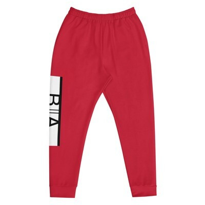 Black Allure Joggers (Red)