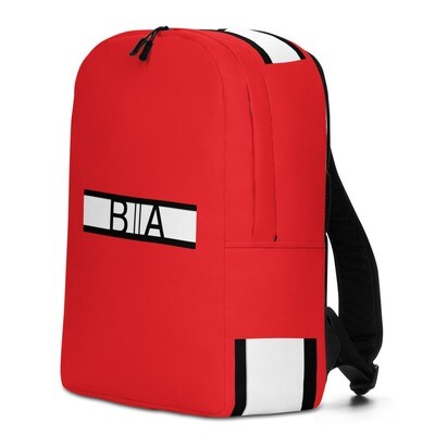 BA Retro Red Backpack