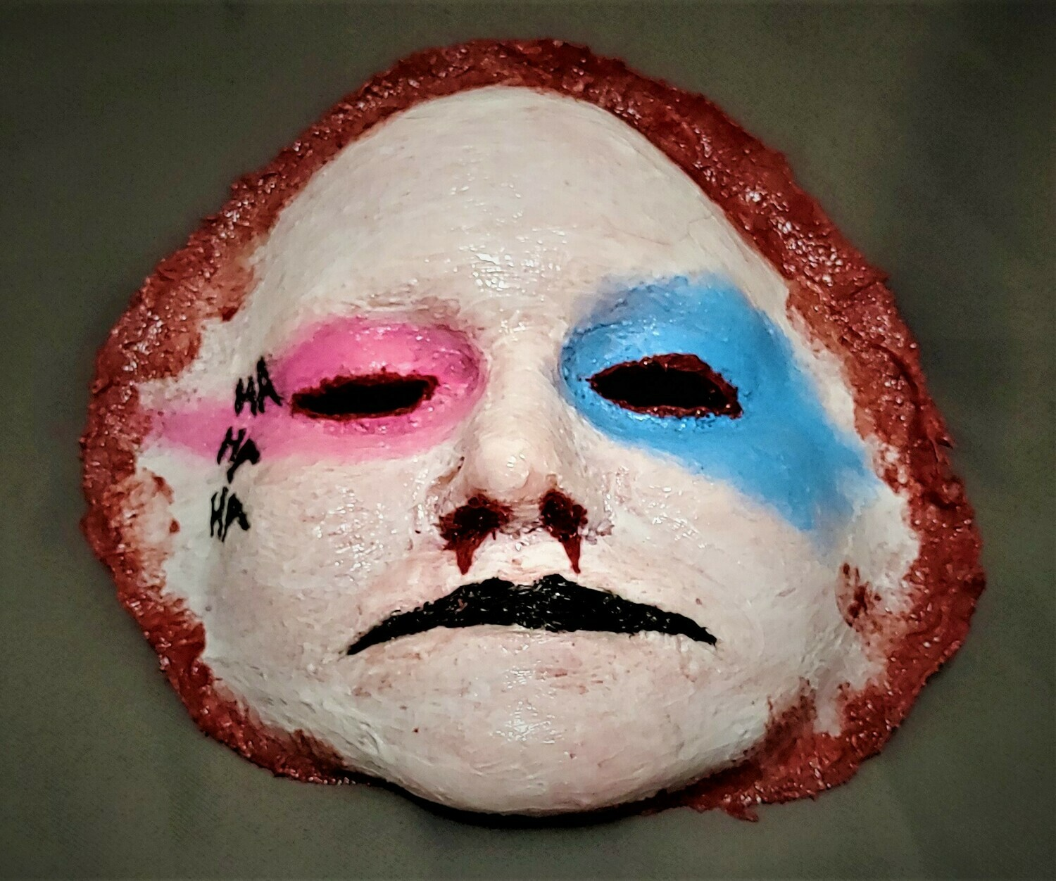 Peeled Female Clown Face